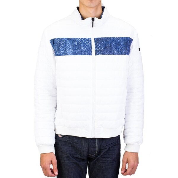 Roberto Men Cavalli Puffer Jacket White