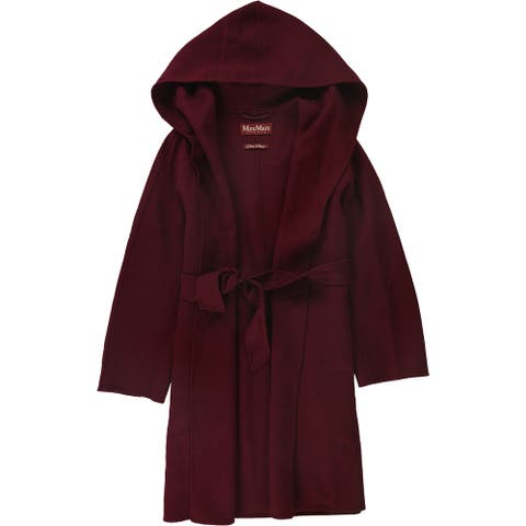 MaxMara Womens Euforia Coat, red, 8