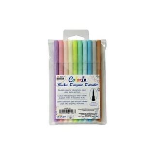 Uchida ColorIn Markers Brush 10pc Pastel