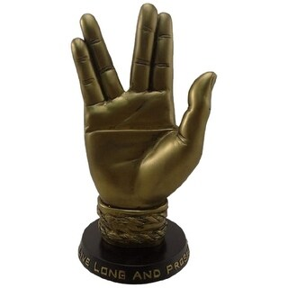 Star Trek Mr. Spock Bronze Business Card Holder