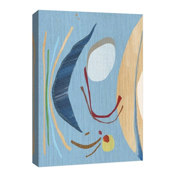 """PTM Images 9-126628 PTM Canvas Collection 8"""" x 10"""" - """"Falling Sky"""" Giclee Abstract Art Print on Canvas"""