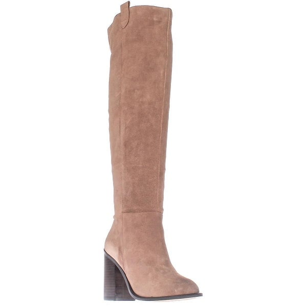 Kelsi Dagger Brooklyn Harmans Knee-High Fashion Boots, Latte