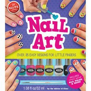 Nail Art Book Kit-