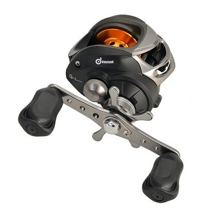 9+1BB 6.3:1 Ball Bearings Right Hand Level Wind Reel Bait Casting Fishing Reel High Speed Black