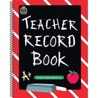 Portrait Chalkboard - Teacher Created Resources Spiral Teacher Record Book