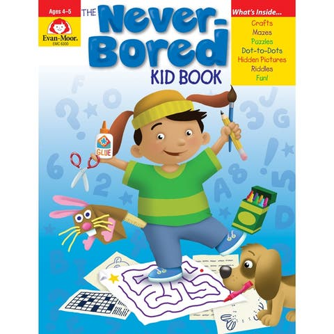The Never-Bored Kid Book Ages 4-5