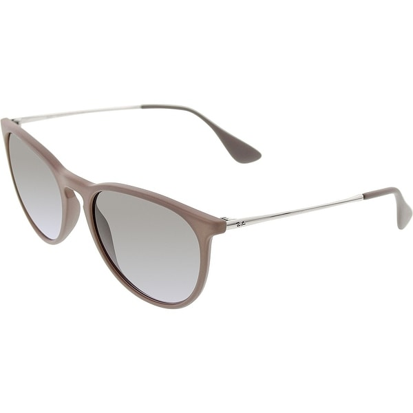 7c0a69242029 Ray-Ban Women s Erika RB4171-600068-54 Grey Round Sunglasses - Free ...