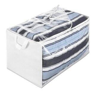 """Whitmor 6044-137 Storage Bag, 29"""" x 17-1/2"""" x 15-1/2"""", White"""