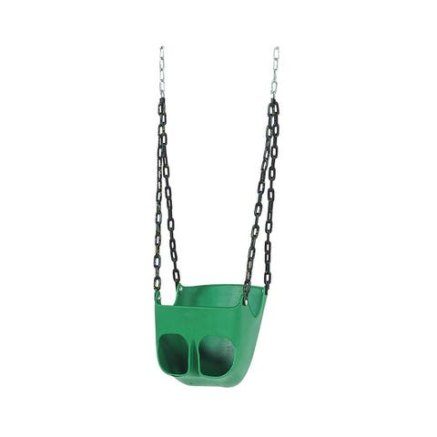 "Playstar PS 7534 Commercial Grade Toddler Swing Seat, Green - 15.25""W x 21""H x 13.5""L"