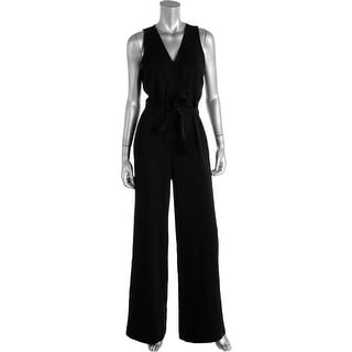 Sanctuary Womens Surplice V-Neck Jumpsuit