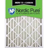 Nordic Pure 18x24x4 MERV 13 Plus Carbon AC Furnace Air Filters Qty 6