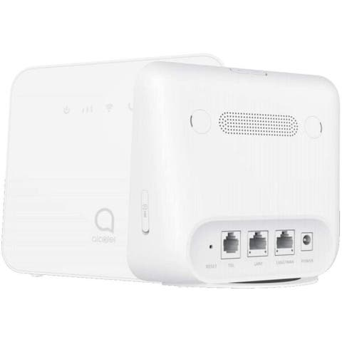 Alcatel Link HUB LTE Home Station (HH42) w/Ethernet Port, Mobile WiFi Hotspot (US + Global 4G LTE) GSM Unlocked - White
