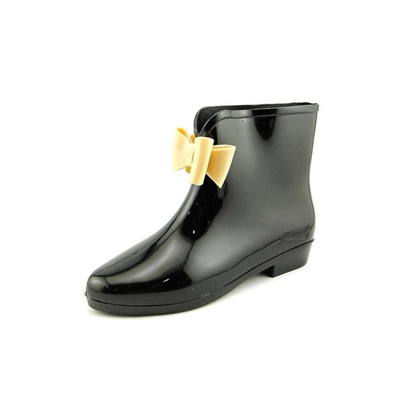 Dizzy Picabow Women Round Toe Synthetic Black Rain Boot