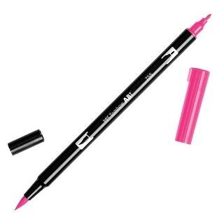 Tombow Dual Brush Pen Art Marker, 755 - Rubine Red, 1-Pack