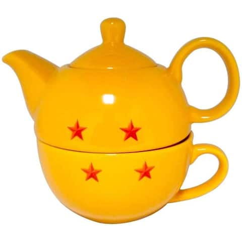Dragon Ball Super Stackable 11oz Teapot and Cup Set - Yellow