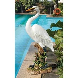 Design Toscano The Great White Egret Statue