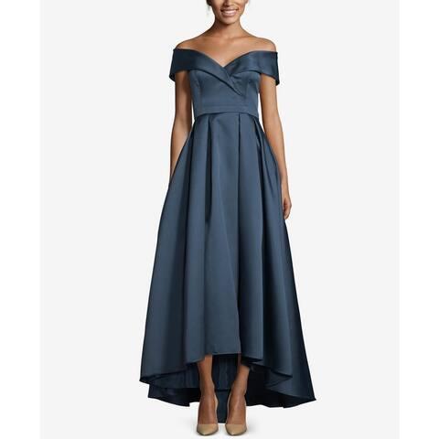 Xscape Womens Formal Dress Shimmer Hi-Low - Night