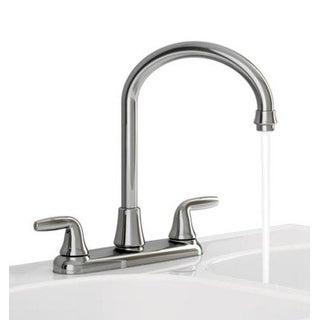 American Standard 9316450.002 Jocelyn Two Handle High Arc Kitchen Faucet Without Side Spray