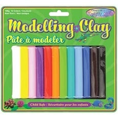 Assorted - Modeling Clay 150G 12/Pkg