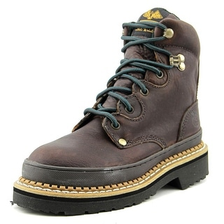 Georgia Boot G3374 Women Steel Toe Leather Brown Work Boot
