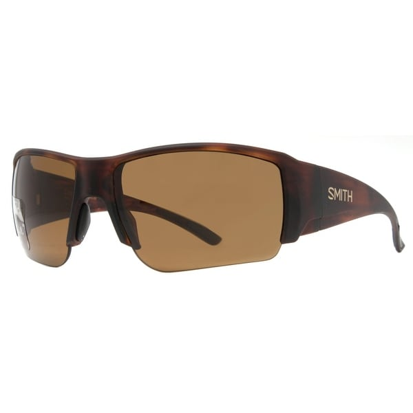 Smith Optics Captains Choice Matte Havana Brown ChromaPop Polarized Sunglasses - matte havana - 66mm-16mm-120mm