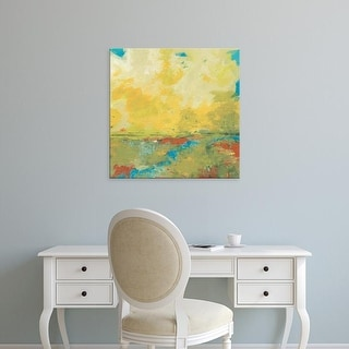 Easy Art Prints Jan Weiss's 'Earth and Sky' Premium Canvas Art