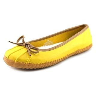Sporto Betty Women   Synthetic Yellow Moccasins