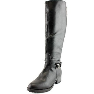 Rampage Imelda Women Round Toe Synthetic Black Knee High Boot