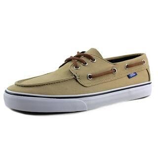 Vans Chauffeur SF Men Moc Toe Canvas Tan Boat Shoe https://ak1.ostkcdn.com/images/products/is/images/direct/55b0eaedc8ebe74021cca052793708e5e6327d89/Vans-Chauffeur-SF-Men-Moc-Toe-Canvas-Tan-Boat-Shoe.jpg?impolicy=medium