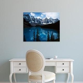 Easy Art Prints Charles Gurche's 'Lake Morain' Premium Canvas Art