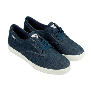 HUF Sutter Mens Blue Textile Lace Up Sneakers Shoes