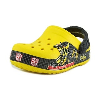 Crocs CB Transformers Bumblebee Clog Youth Round Toe Synthetic Clogs