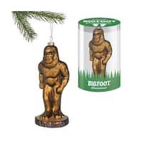 Big Foot Glass Ornament