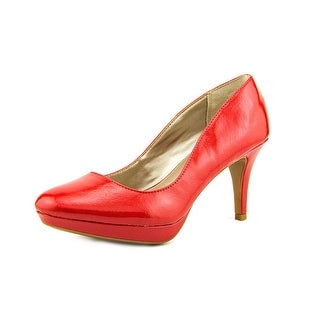 Alfani Madyson Women Open Toe Synthetic Red Platform Heel