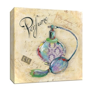 """PTM Images 9-146944  PTM Canvas Collection 12"""" x 12"""" - """"Perfume"""" Giclee Perfume Art Print on Canvas"""