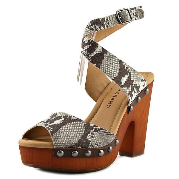 Lucky Brand Nessah Women Grey Sandals