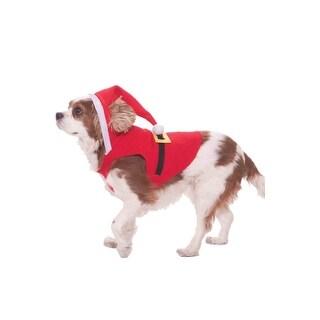 Forum Novelties Santa Suit Dog Costume (L)