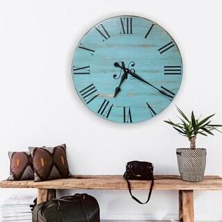 The Maryann Farmhouse Wall Clock
