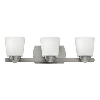 Hinkley Lighting 55213 3 Light Bathroom Vanity Light from the Kylie Collection
