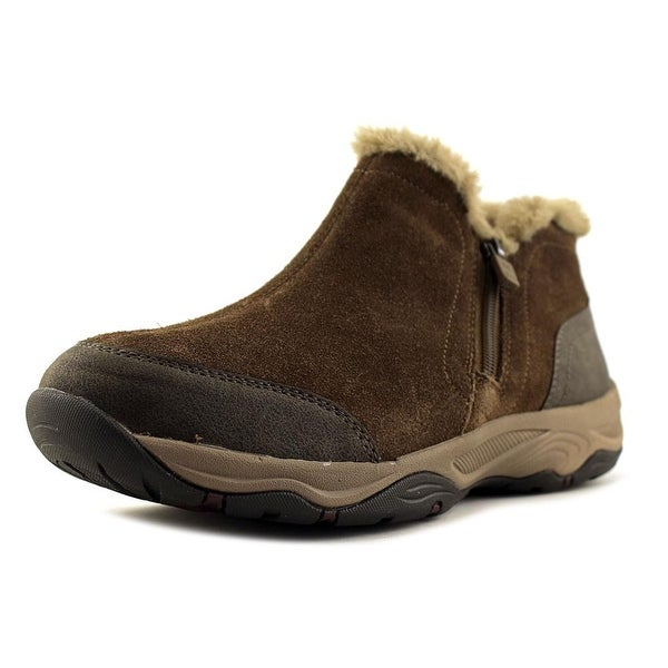 23bf89c259a18 Shop Easy Spirit Pedtra Round Toe Suede Ankle Boot - Free Shipping ...