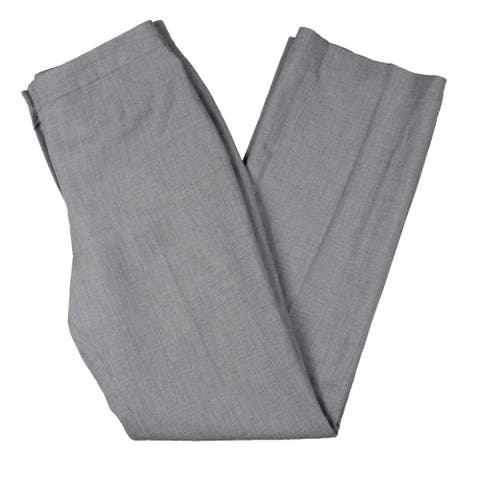 Le Suit Womens Dress Pants Knit Office - Gray - 4