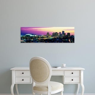 Easy Art Prints Panoramic Images's 'Phoenix AZ' Premium Canvas Art