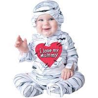 Infant I Love My Mummy Halloween Costume