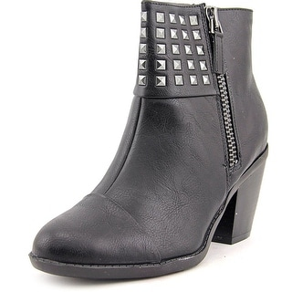 Rialto Mae Round Toe Synthetic Ankle Boot