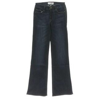 M1858 New York Womens Amy Bootcut Jeans Dark Stretch - 0