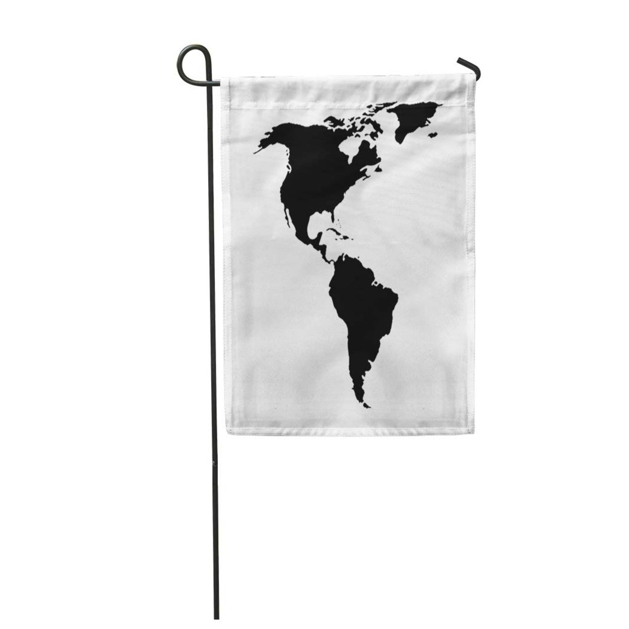 Picture of: Shop Abstract North And South America Map American Continent Argentina Brazil Garden Flag Decorative Flag House Banner 28×40 On Sale Overstock 31371796