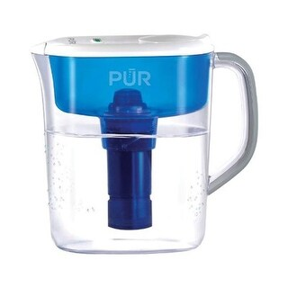 PUR PPT110W Water Filtration Pitcher Clear 11 Cup - pack of 2