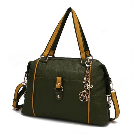 MKF Collection Opal Lightweight Satchel Bag by Mia K.