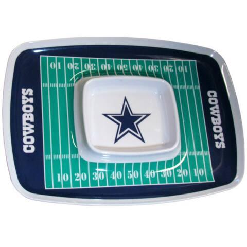 Siskiyou Sports Dallas Cowboys Chip And Dip Tray Chip and Dip Tray