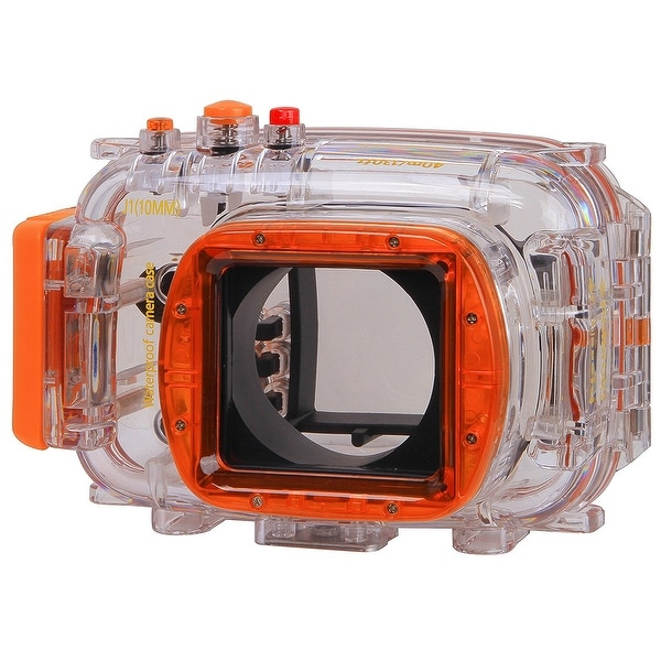 Polaroid Waterproof Underwater Housing Case For Nikon J1 Camera with a 10mm Lens